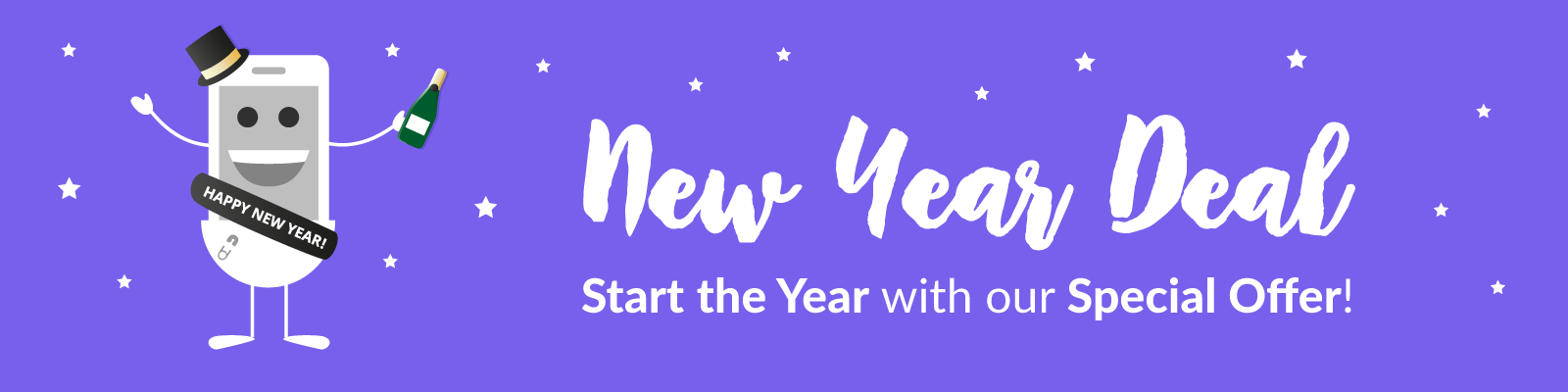 New Year Deal Banner